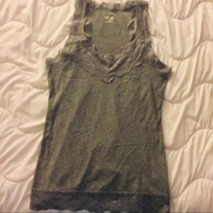 Mossimo Gray Tank Top